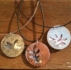 Hidden Message Jewelry by Anita Bondi