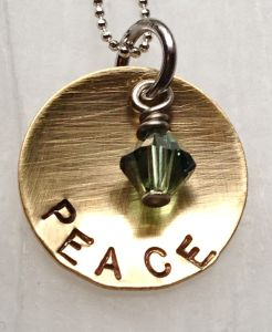 Peace Necklace ABD
